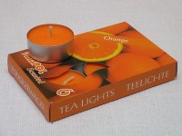 Tea Lights - orange