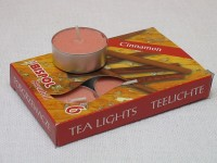 Tea Lights - cinnamon