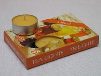 Tea Lights - honey